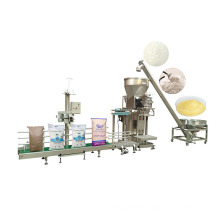 Stainless Steel DJ-1C1 Semi Automatic Salt Coffee Large Bag Filling Machine Powder 25kg