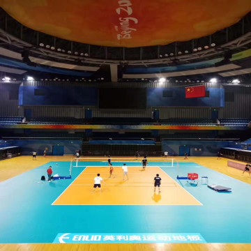 Inomhus PVC Volleyball Court Flooring