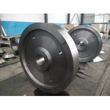 Forging Large Diameter Rolling Wheel