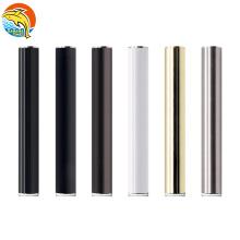 New trending automatic 350mah rechargable cbd battery packaging USA matte black 510 thread buttonless vape battery