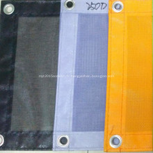 Drap de sécurité en polyester enduit de PVC