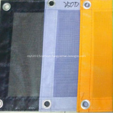 PVC coated Polyester safety mesh sheet