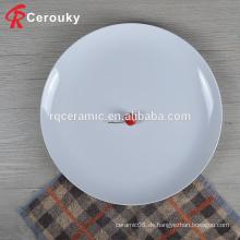 China Lieferant Masse Hotel Bankett Hochzeit weiß Runde Keramik Tischplatte