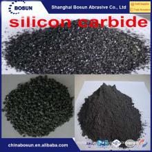 Carburo de silicio negro 98% F14 F16 para refractario