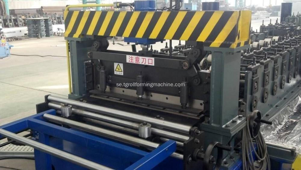 European Standard Cable Tray Roll Forming Machine