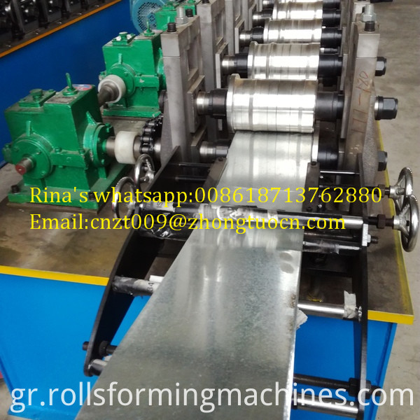 gear box transmission shutter door roll forming machine 3