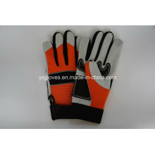 Cow Leather Glove-Labor Glove-Reinforce Palm Glove-Working Glove
