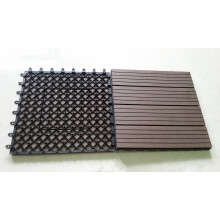 Wood Material and Garden Landscape & Decking Type Decking Tile WPC