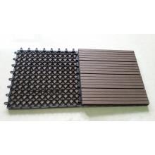 Material de madera y jardín Paisaje y plataforma Tipo Decking Tile WPC