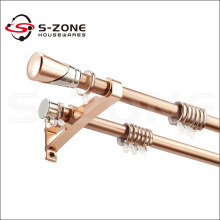 Hot Sale 28mm Wall Mount Metal Curtain Rod With Competive Price