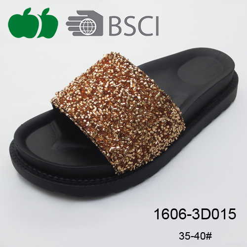 black color women slippers