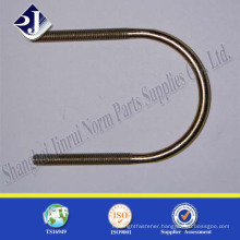galvanizing u bolt cable clamp yellow grade 8.8