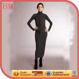 Muslim Long Sleeve Casual Dresses Long (W2130094)