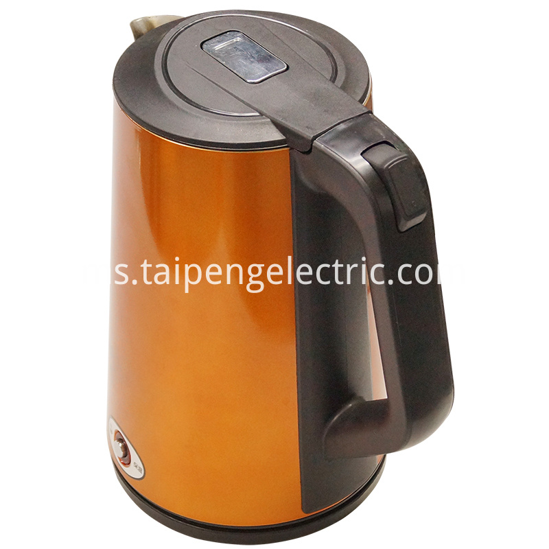 Keep warm stainless steel kettle