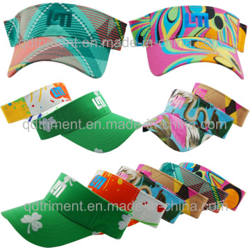 Fashion Colorful Design Fabric Leisure Sun Visor (TMV9508-1)