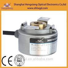 Encodeur de bonne qualité K35 Moteur à courant continu à haute résolution Ultrathin à haute résolution avec phase ABZA-BZ-UU-VV-WW