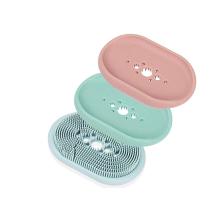 Custom BPA Free Silicone Soap Dish Brush