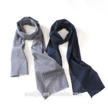 2016 Nueva bufanda de la impresión del algodón de la moda del mens corbatas