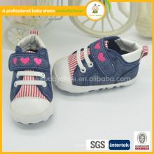 2015 China atacado novo estilo de venda quente de alta qualidade barato sapatos de bebê