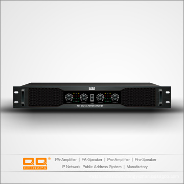 La-500X4h Digital Amplifiers with 4 Channel 500W