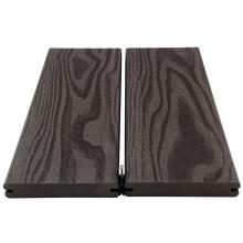 La terrasse extérieure de composite de wpc baisse des tuiles extérieures de plate-forme