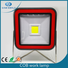 Rotatable LED Work Light With Metal Stand
