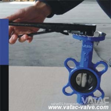 Manual JIS 5k/10k C. I/D. I Marine Butterfly Valve China