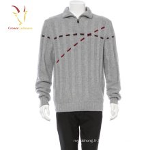 Hiver Chaud Mode Pull Hommes Hommes Cachemire Intarsia Chandail Hommes Pull Chandail