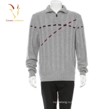 Кашемир зима теплая мода свитер мужчин мужская свитер Интарсия мужские пуловеры свитер