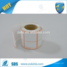 jumbo roll heat sensitive adhesive thermal paper using for bar code of goods