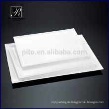 Keramikplatte Dinnerware Rectangle Platte
