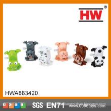 Смешные пластиковые Дети Ветер до Handstand Мини пластиковые игрушки животных