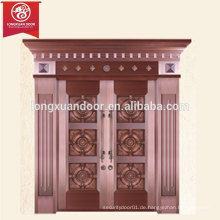 Fabrik Custom Villa Bronze Tür, Doppel Swing Kupfer Tür