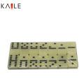 Custom Dominoes Double 6 in Plastic Box
