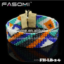 Bohemia style handmade seed bead bracelet
