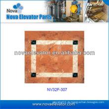 Aufzugs-Teile, Aufzug Auto Dekoration, Passagier Aufzug PVC-Boden