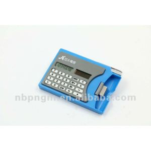 8 Digits Mini Multi function Calculator with Name Card