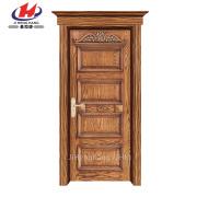 *JHK-011 CS Interior Doors Home Hardware Wooden Interior Doors Wood Door Carving Designs