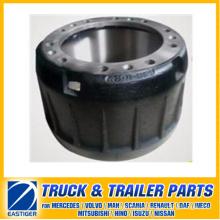 Peças de reboque de peças de freio Tambor de freio 0310677520 para BPW