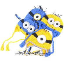 Cute Yellow Minion Beanie Hat