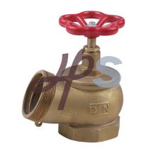 Válvula de aterrizaje de la manguera de fuego de latón para el sistema de hidrantes