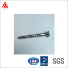 Carbon steel philips pan flat head self tapping screw