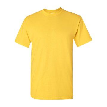 100コットンイエローTシャツ