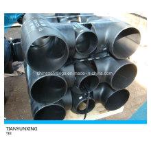 A234wpb Бесшовный стыковой тройник из углеродистой стали