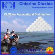 Desinfectante de alta calidad de dióxido de cloro para la acuicultura