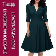 Retro Plus Size Ladies Dress Suit (L36109-1)