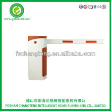 Aytos black & white automatic car parking barrier gate la barrera straight arm running in low speed