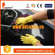 Yellow Latex Household Glove DHL303