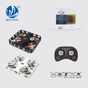 2.4GHz Wireless Mini RC Drone Square Mesh Quadcopter Toy for Kids