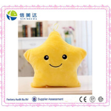Fluffy Plush LED Star Pillow